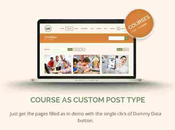- 11 lms customcourses - Courses as Custom Post Type