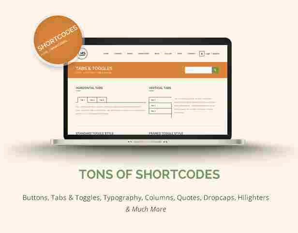 - 14 lms shortcodes - Tons of Shortcodes
