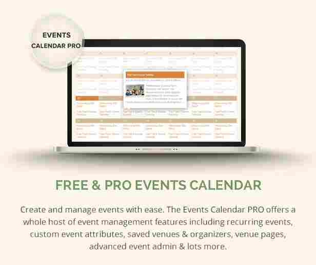 - 4 lms events - Free & Pro Events calendar