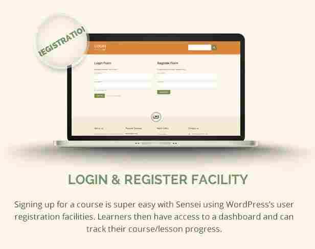 - 6 lms registration - Login & Register Facility