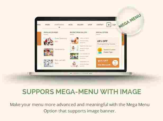 - 7 lms megamenu - Mega Menu With Widgets