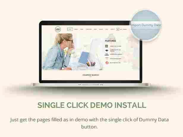 - 9 lms demo - Single Click Demo Install