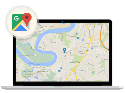 - google map - Landing Page