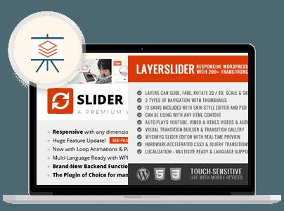 - slider - Landing Page