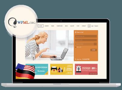 - wpml - Landing Page
