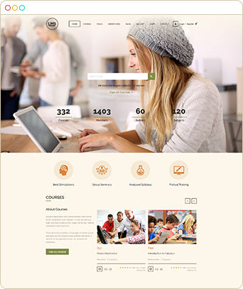 - home - Landing Page