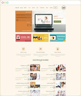 - rtl - Landing Page