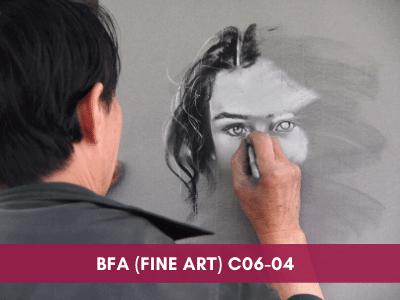 drawing courses at grafiti expressions - BFA Fine artC06 04 - Drawing Exams