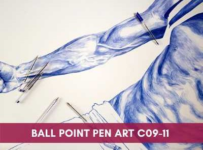 all courses - Ball Point Pen Art C09 11 400x295 - All Courses