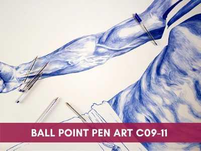 Ball Point Pen Art