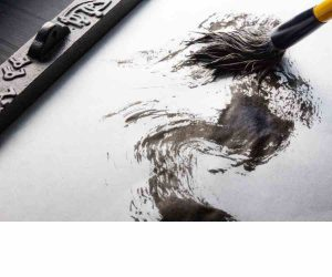 carry sketching classes - Basic Calligraphy Calligraphy Painting C08 11 03 300x250 - Carry Sketching C08-12 Course Gallery