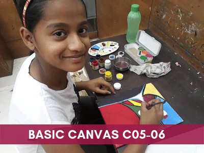[object object] - Basic Canvas C05 06 4 - Online Art Courses for Age 4 to 15 yrs Kids in Pune, India Grafiti Expressions