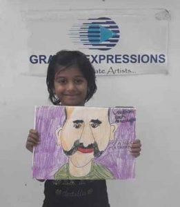 art & craft classes - Basic Foundation Level 1C02 01 6 261x300 - Basic Foundation Level 1 C02-01 Course Gallery