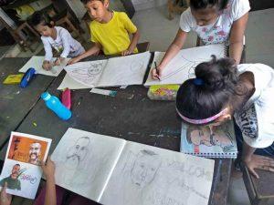 basic sketching course - Basic Sketching C05 01 3 300x225 - Basic Sketching C05-01 Art Course Gallery for kids & Adult