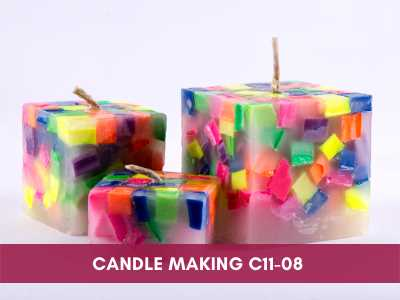 advance painting & media courses - Candle Making C11 08 - Advance Painting & Media Courses