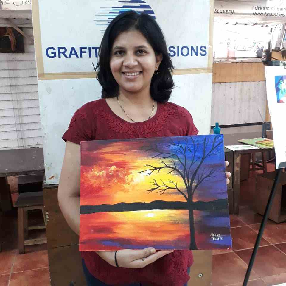 canvas & abstract painting (oil and acrylic colour) - Canvas Abstract Painting OilC08 07 06 - Canvas & Abstract Painting (Oil and Acrylic Colour)