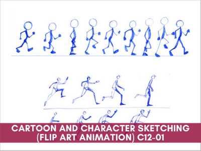 Cartoon and Character Sketching (Flip Art Animation)