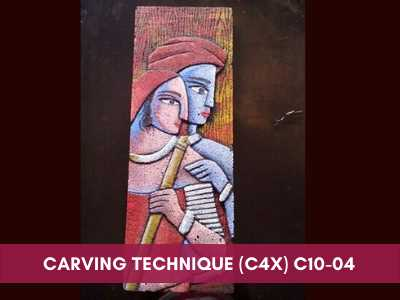 advance painting & media courses - Carving Technique C4x C10 04 - Advance Painting & Media Courses