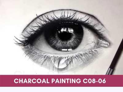 advance courses - Charcoal Painting C08 06 - Advance Courses