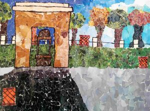 - Collage Painting C09 12 03 300x222 - Collage Painting – C09-12