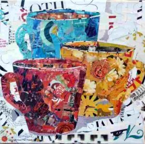 - Collage Painting C09 12 04 300x298 - Collage Painting – C09-12