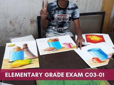 drawing courses at grafiti expressions - Elementary Grade Exam C03 01 - Drawing Exams