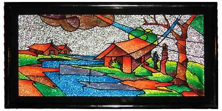 fabric & glass painting - Fabric and Glass Painting C10 03 16 - Fabric & Glass Painting