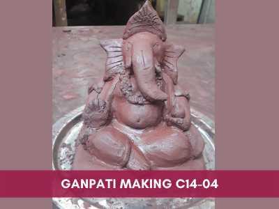 vacation camp & short courses - Ganpati Making C14 04 - Vacation Camp & Short Courses