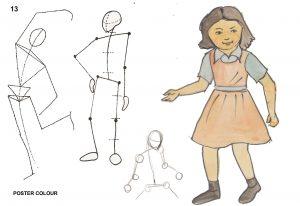 human figure and anatomy classes - Human Figure Anatomy C05 04 3 300x206 - Human Figure and Anatomy C05-04 Course Photo Gallery