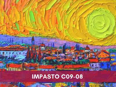 advance painting & media courses - Impasto C09 08 - Advance Painting & Media Courses