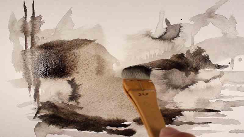 ink wash - Ink Wash C09 07 05 - Ink Wash