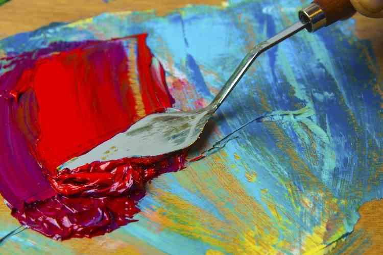 knife painting - Knife Painting C09 01 08 - Knife Painting