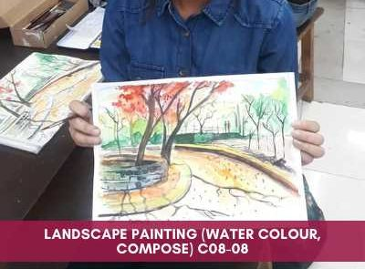 all courses - Landscape Painting Water Colour Compose C08 08 400x295 - All Courses