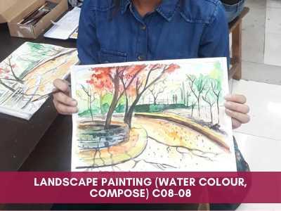 advance courses - Landscape Painting Water Colour Compose C08 08 - Advance Courses