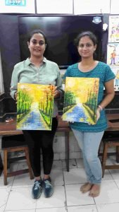 landscape painting classes - Landscape With Media C08 09 01 169x300 - Landscape With MediaC08-09 Course Photo Gallery