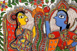 - Madhubani C10 01 01 300x200 - Warli, Madhubani, Miniature, Phad, Gond Painting C10-01