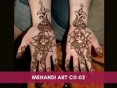 advance painting & media courses - Mehandi Art C11 02 - Advance Painting & Media Courses