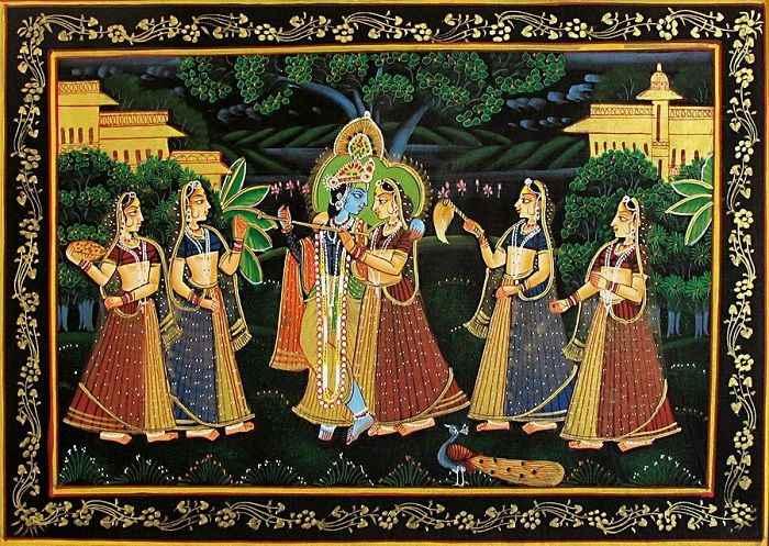 warli, madhubani, miniature, phad, gond painting in pimple saudagar - Miniature C10 01 01 - Warli, Madhubani, Miniature, Phad, Gond Painting