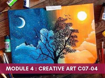 art teacher training courses - Module 4 Creative Art C07 04 - Art Teacher Training Courses