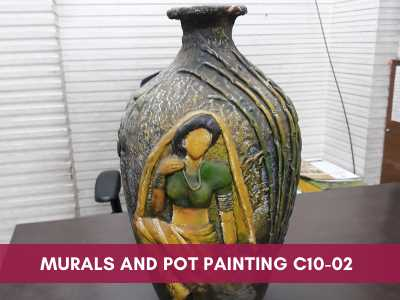 advance painting & media courses - Murals and Pot Painting C10 02 - Advance Painting & Media Courses
