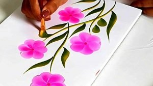 - One stroke Painting C09 15 03 300x169 - One stroke Painting C09-15 Course Gallery