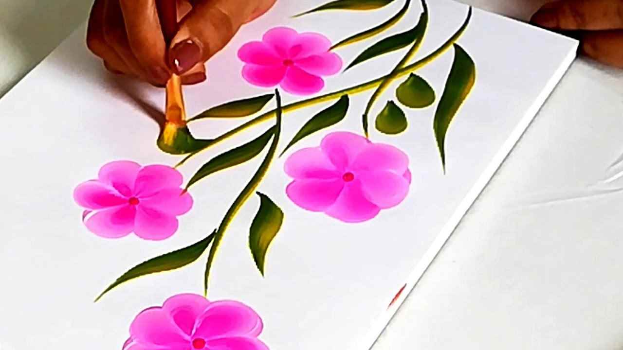 one stroke painting - One stroke Painting C09 15 03 - One stroke Painting