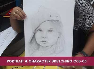 all courses - Portrait Character Sketching C08 05 400x295 - All Courses