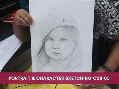 advance courses - Portrait Character Sketching C08 05 - Advance Courses