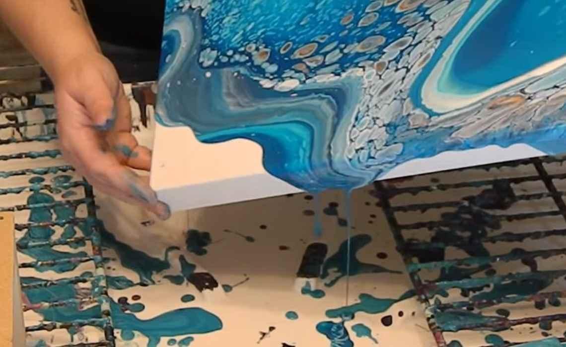 resin – epoxy painting - Resin Epoxy Painting C09 13 02 - Resin – Epoxy Painting
