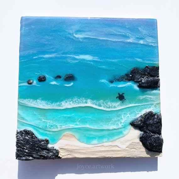 resin – epoxy painting - Resin Epoxy Painting C09 13 05 - Resin – Epoxy Painting