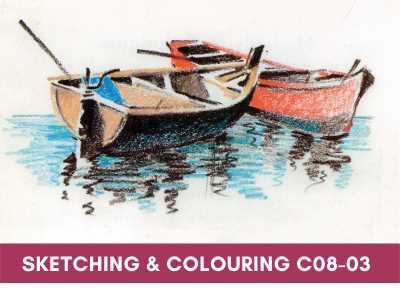 advance courses - Sketching Colouring C08 03 - Advance Courses