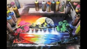 spray wall painting - Spray Wall Painting C09 14 06 300x169 - Spray Wall Painting