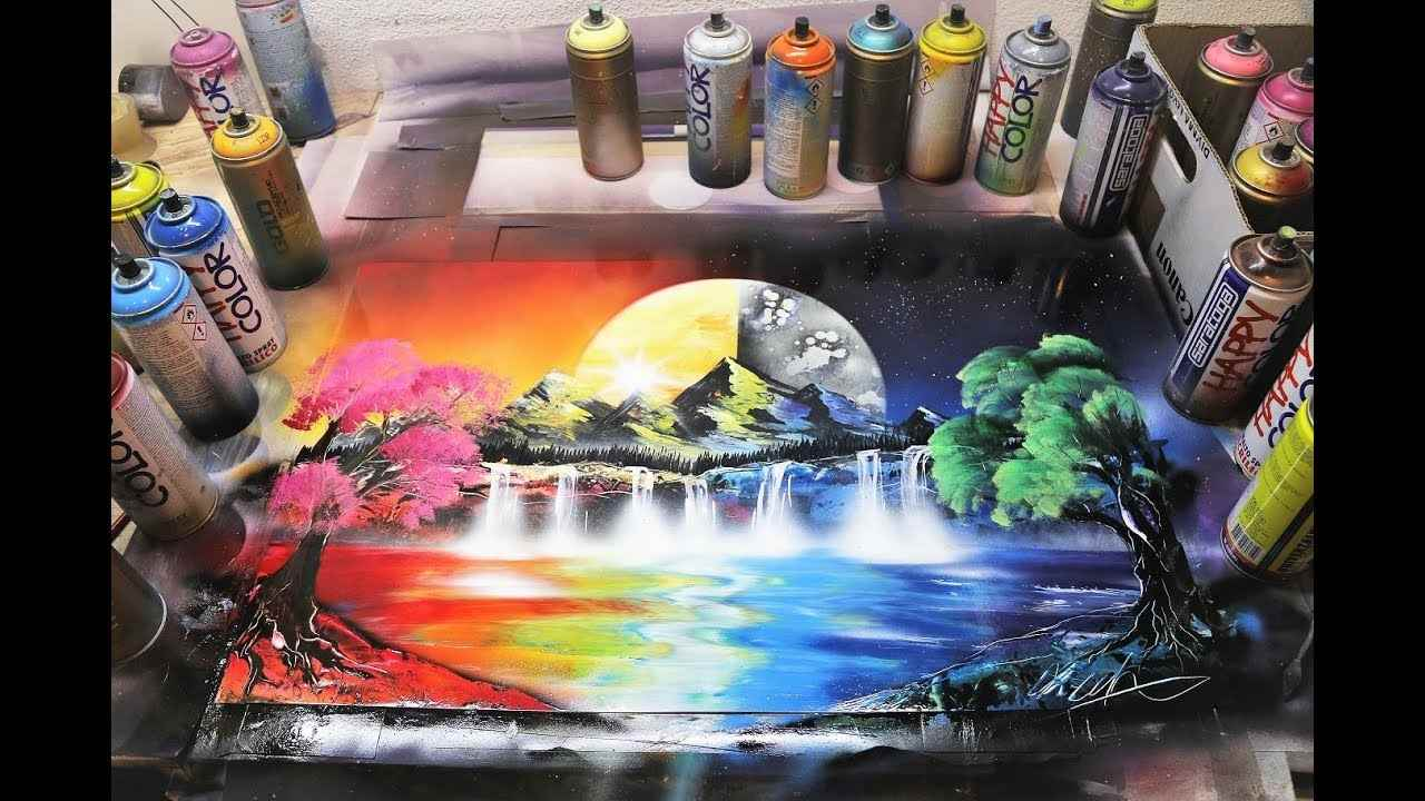spray wall painting - Spray Wall Painting C09 14 06 - Spray Wall Painting