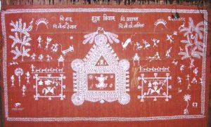 - Warli C10 01 09 300x181 - Warli, Madhubani, Miniature, Phad, Gond Painting C10-01